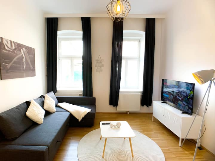 Netflix Appartement in Vienna 15min from Center