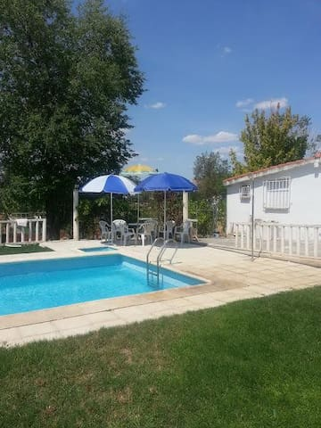 House with private pool and garden - Cedillo del Condado- Toledo - Huis