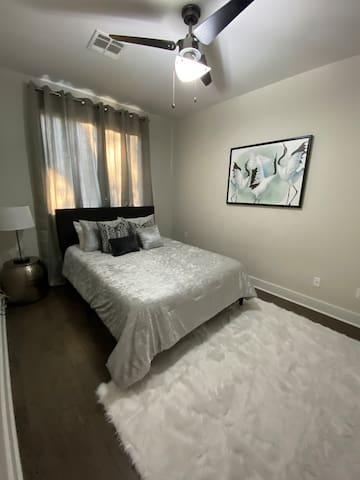Third floor queen bedroom with closet.