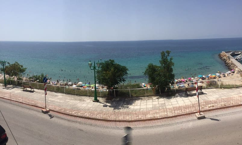 Panoramic front balcony view