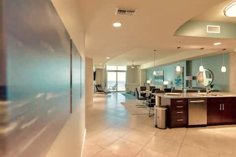 Ultimate Beachfront Elegance-Turquoise Place C1704