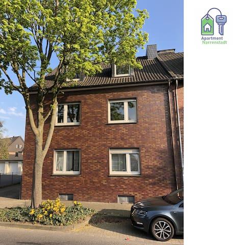 Tolles 3 Zimmer Apartment - Narrenstadt Dülken