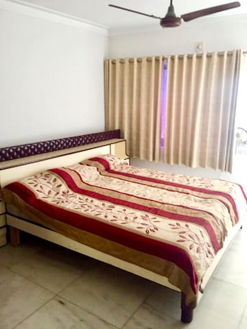 Each bedroom is set up with a comfortable King Sized bed