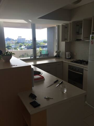 Great, cheap room in kanguro point - Kangaroo Point - Appartement