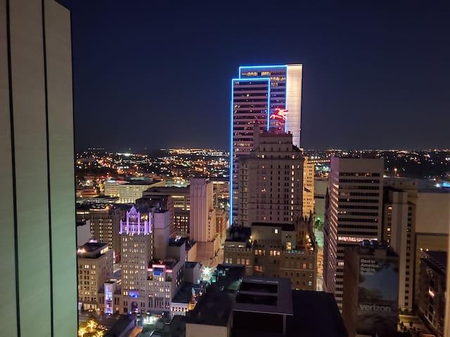 Amazing View, Downtown Dallas 1BD