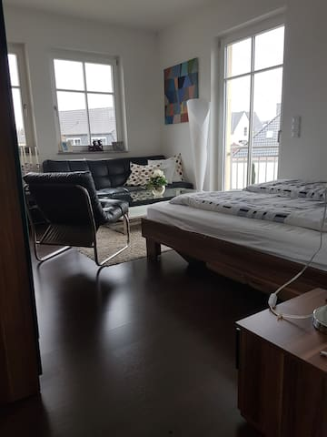 Modernes Zimmer an Braunschweigs Oker - Braunschweig - Vila