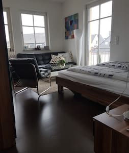 Modernes Zimmer an Braunschweigs Oker - Braunschweig - Casa de campo