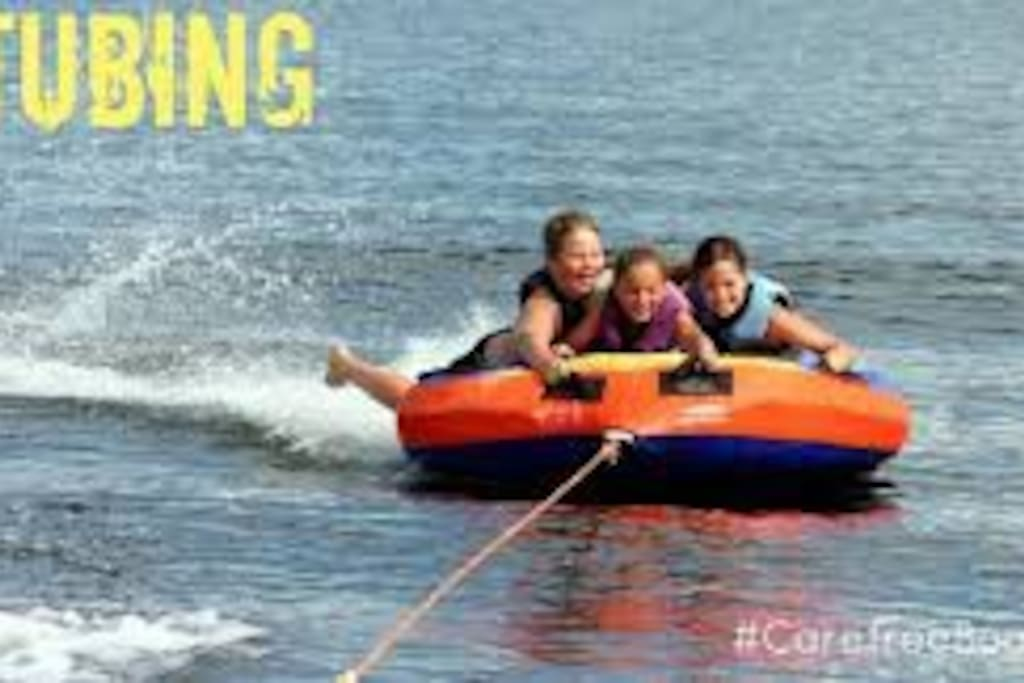 Tubing fun for the whole family..