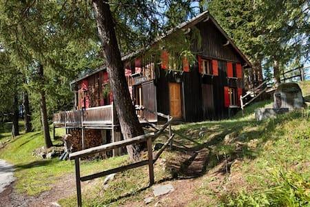 Le Ranch-p'tit coin de paradis au Col des Planches - Vollèges - Xalet