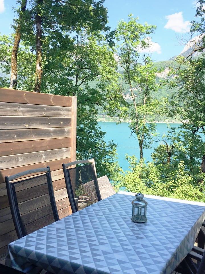 Beau Duplex avec vue sur le Lac d'Annecy