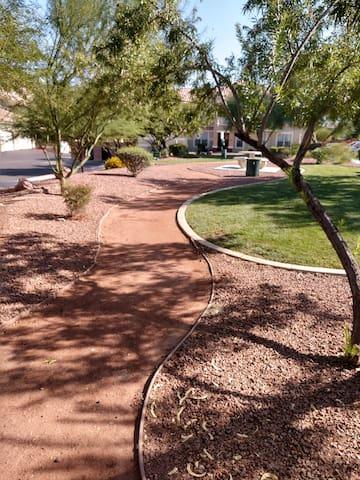 Nice park, smoke or rest area