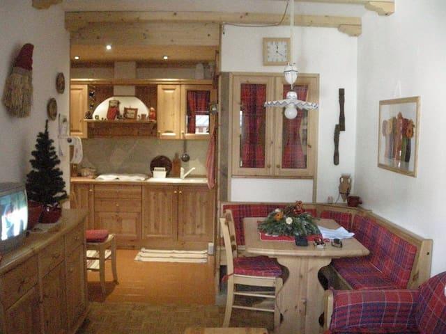 Casetta in Montagna - Borca - Apartamento