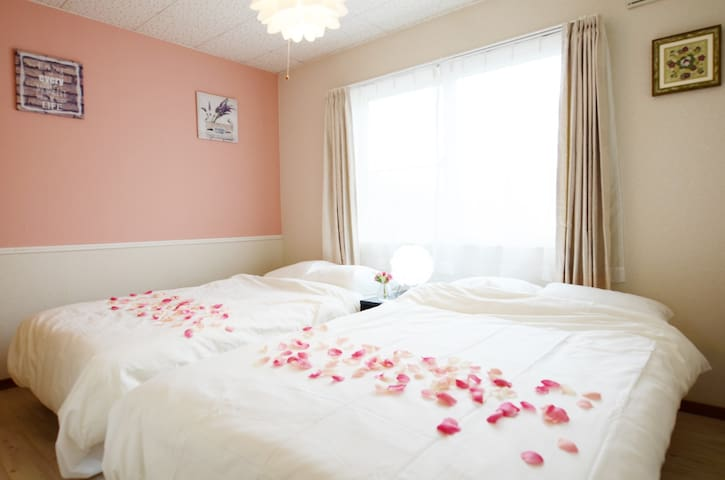 Large Confortable Room/Parking/Wifi - Asahikawa - Apartmen