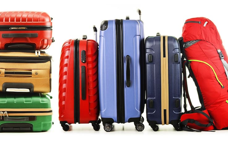 Storage for your luggage in center