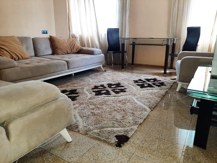 Отличная 2-х комнатная квартира в центре Кишинева