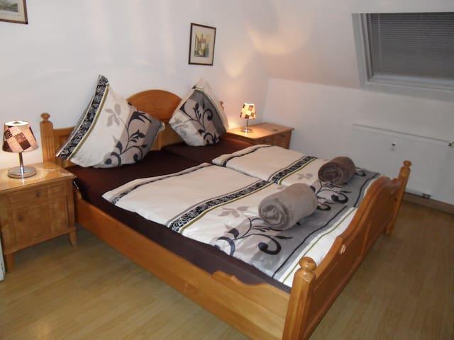 Wohnung mit mehreren Privatzimmern - Kleinkarlbach - Pis