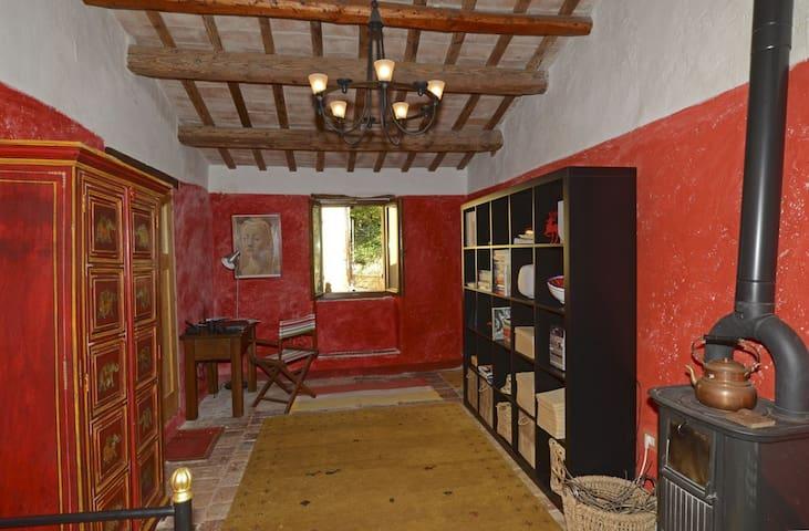 Charming stone house (Marche) - Piobbico - Dom