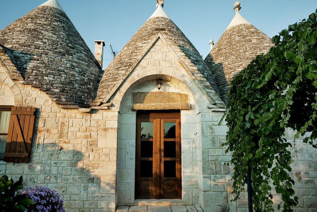I SETTE CONI - TRULLO LAVANDA  - Nature lodges for Rent in Ostuni, Apúlia, Italy