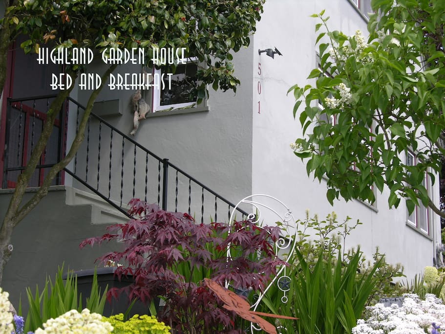 Highland Garden House Bed and Breakfast, Welcome!