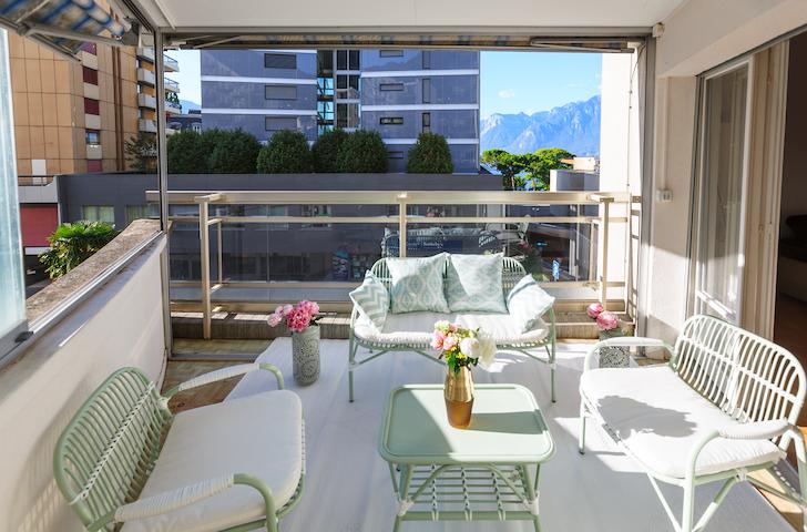 City Center Apartment - Montreux - Private Parking