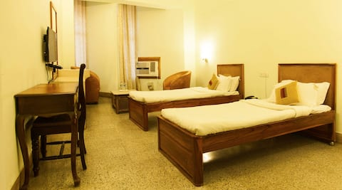 Deluxe twin bedded Room-There's comfort yet reassurance