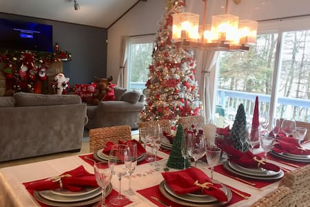MAKE A DECEMBER 2 REMEMBER decorated  house 4 xmas