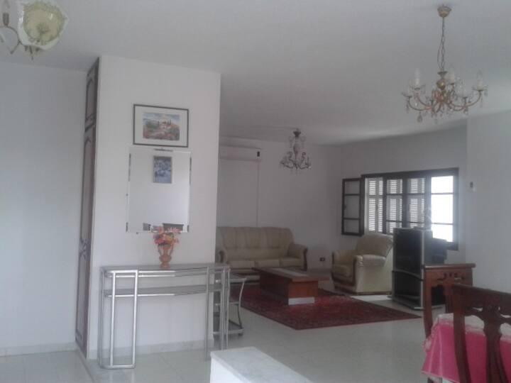 Etage de villa meublé à Menzah 6 quartier résid