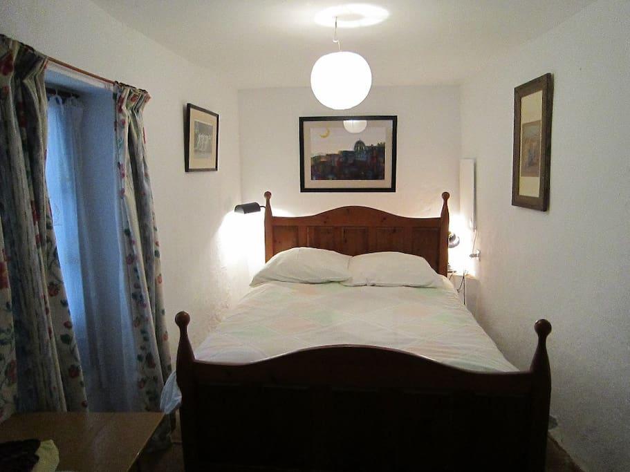 bedroom 1 overlooking internal patio Andaluz