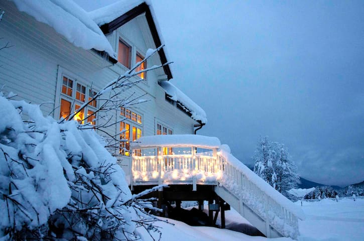 Charming house near mountains