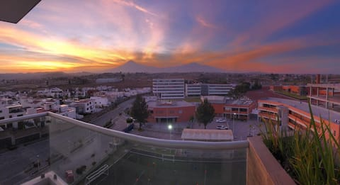实用的公寓,可欣赏迷人的日落!