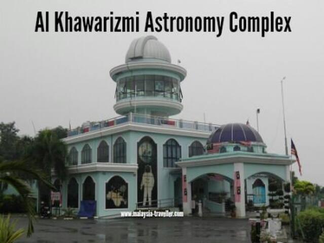 Alkhawarizmi astronomy complex