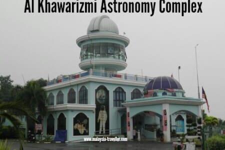 Alkhawarizmi astronomy complex - Masjid Tanah