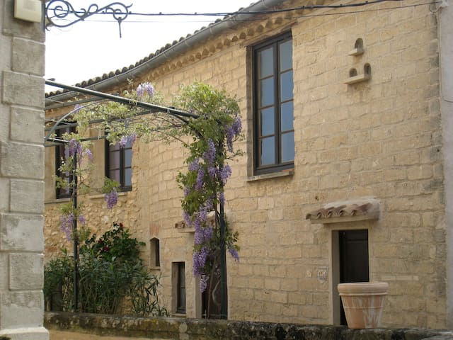 Charming & bright flat in Languedoc - Lagamas - Byt