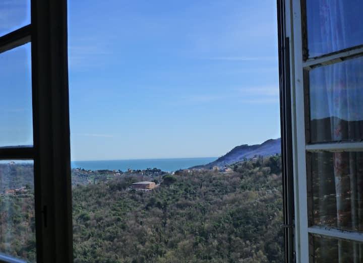 B&B Cà dei Pini, cosy room with gorgeous view