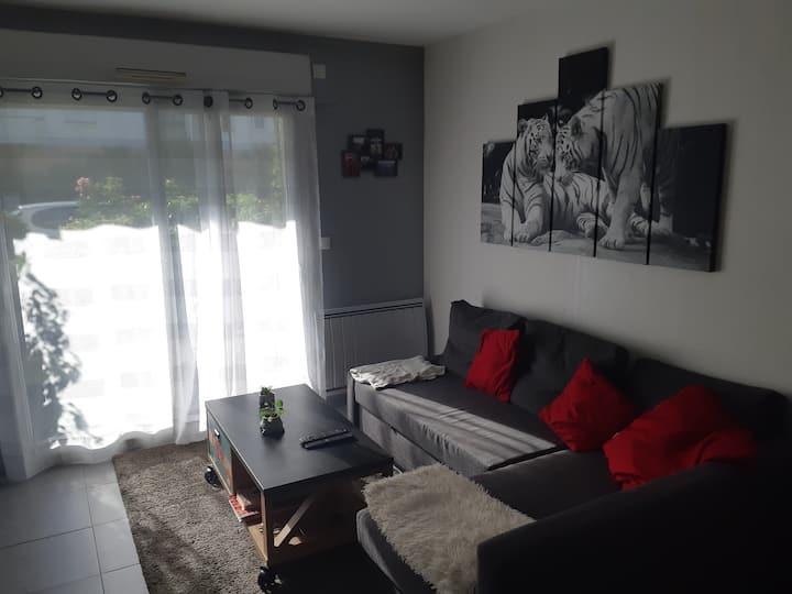 Appartement calme, Proche de Nantes