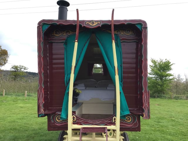 Gypsy Wagon and Bell Tent