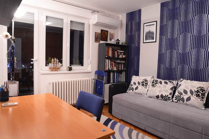 Modern room for one or two in downtown of Nis