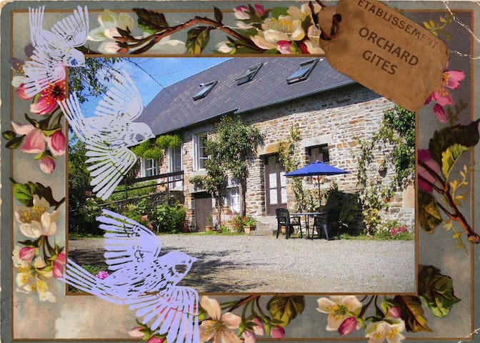 Comfortable farmhouse bedroom for 2 - Saint-Quentin-les-Chardonnets - Bed & Breakfast