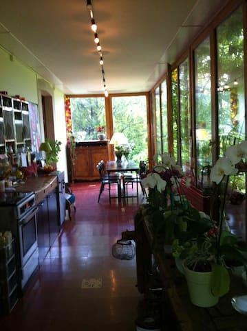 Appartement avec jardin à Genève - Chêne-Bourg - Daire
