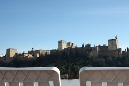 Astonishing views of the Alhambra - 格拉纳达 - 公寓