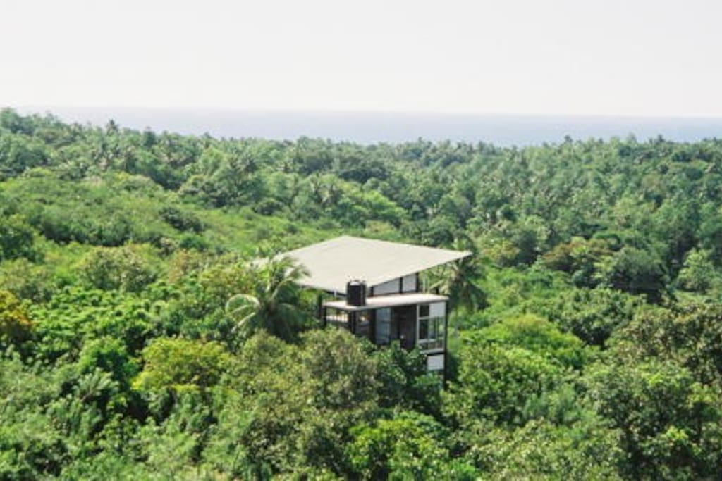 tree house between galle and unawatuna beach houses for rent in unawatuna southern province. Black Bedroom Furniture Sets. Home Design Ideas