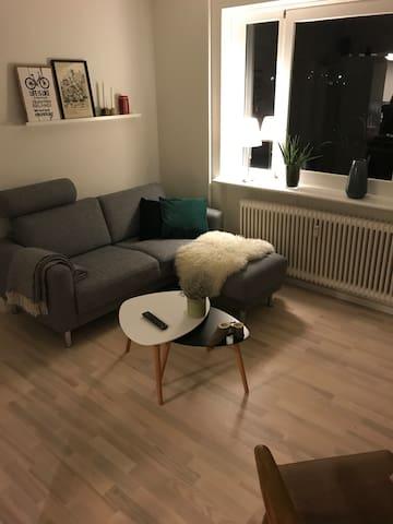 80 kvm lejlighed med fjordglimt