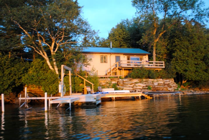 Home on St. Lawrence River NY - Ogdensburg - Huis