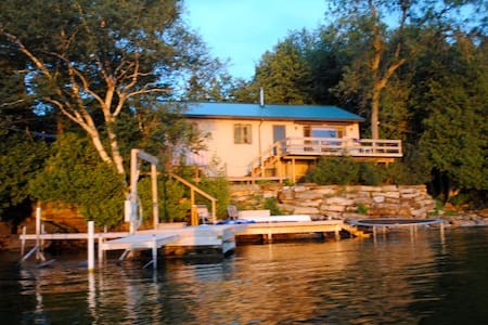 Home on St. Lawrence River NY - Ogdensburg - Hus