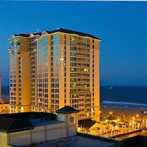 Luxury Suite in Beach Front Resort - Virginia Beach - Daire