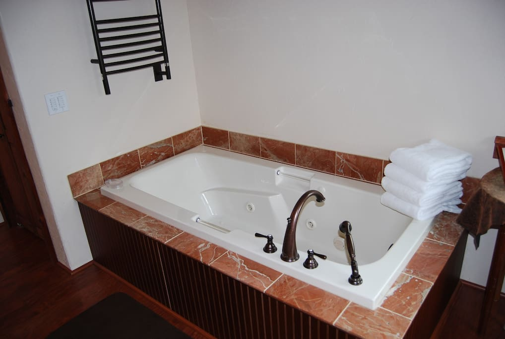Your Jacuzzi & Bubbles tub