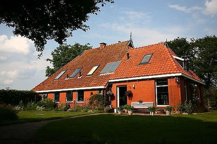Woonboerderij in friesland te huur - Boornbergum - Casa