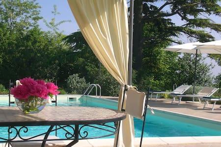appartamento con giardino e piscina - San Salvatore Monferrato - Wohnung