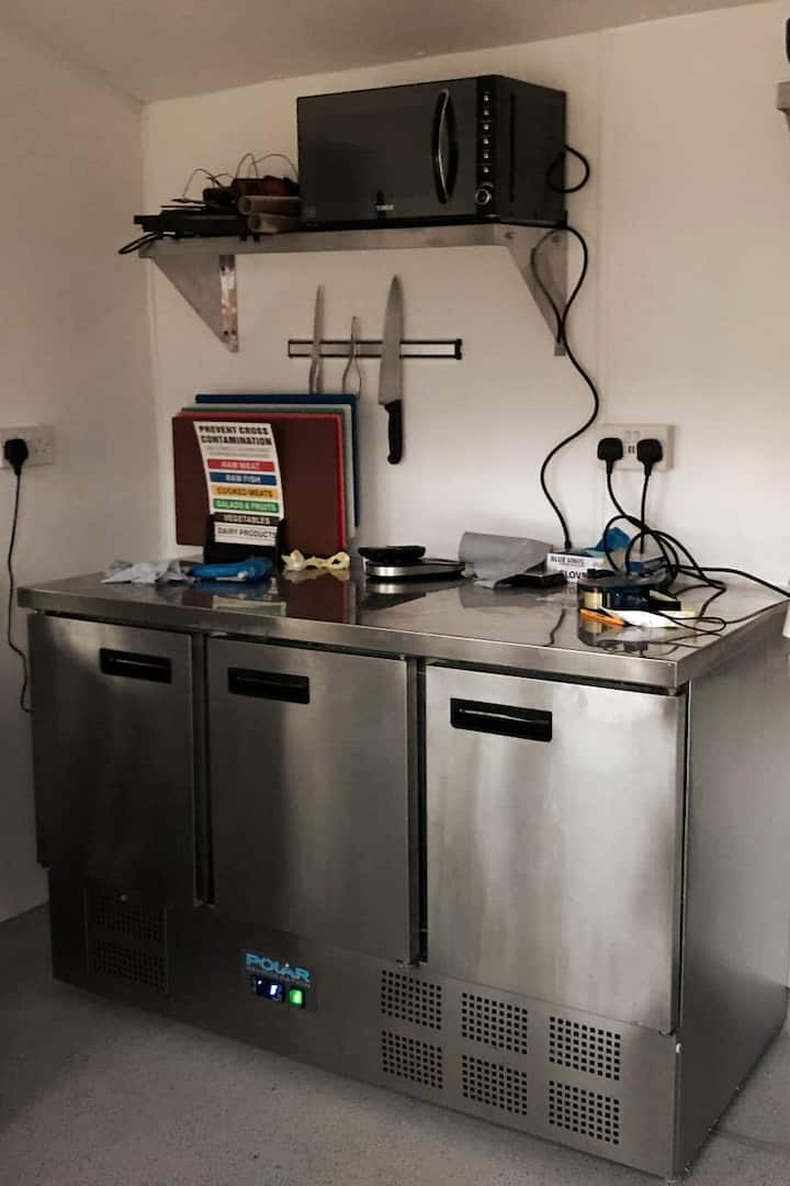 My wee small commercial Kitchen