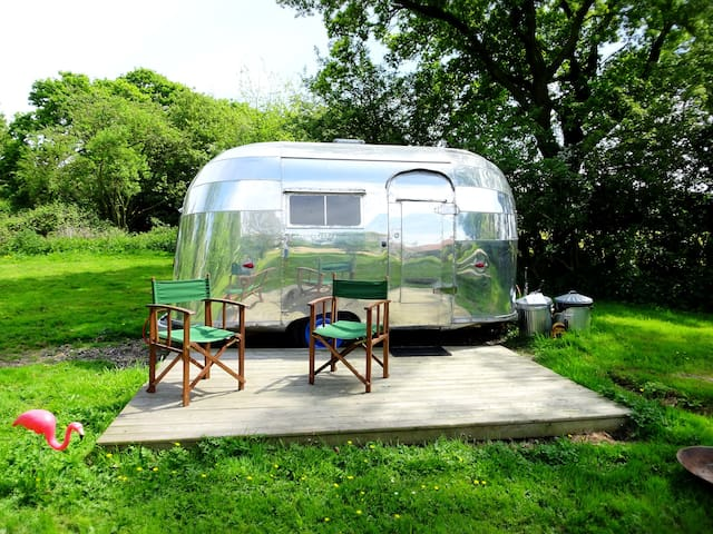 1956 Airstream Bubble - glamping Norfolk/Suffolk